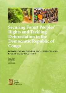 Securing Forest Peoples Rights and Tackling Deforestation in the Congo cover