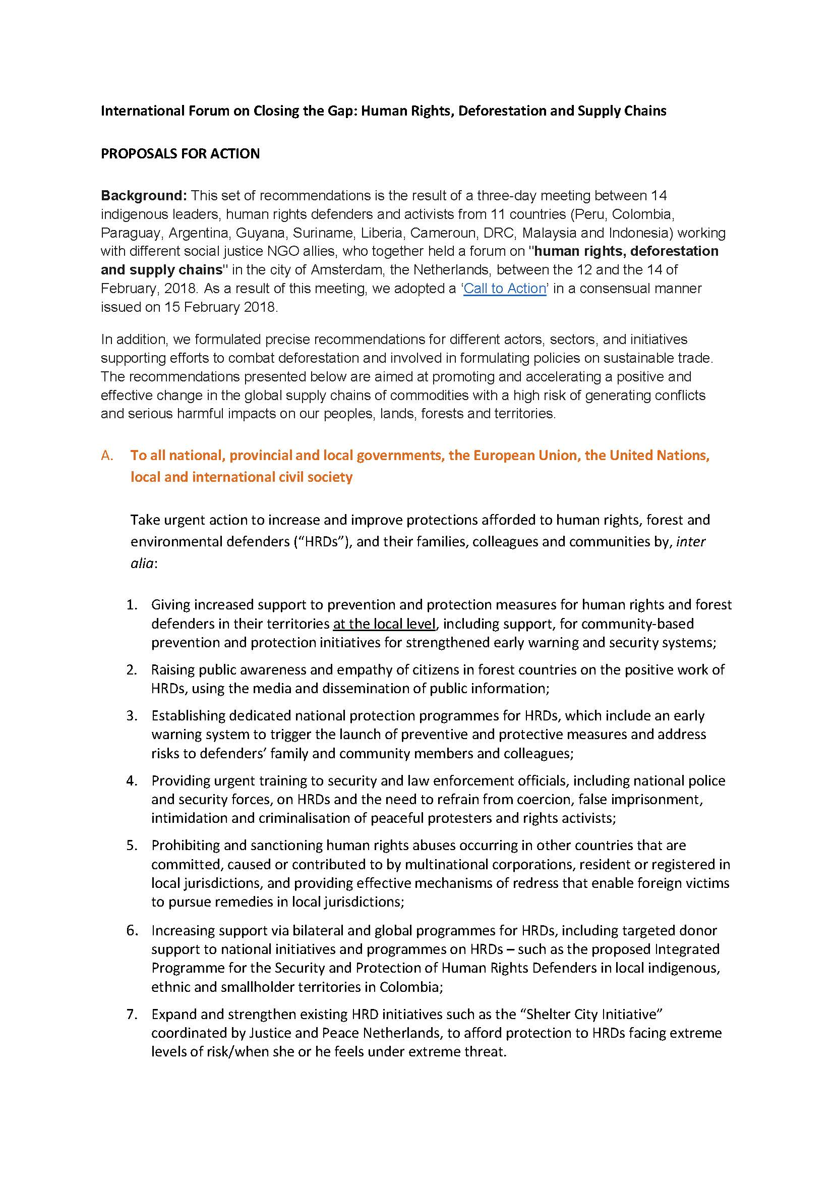 Closing the Gap - Proposals for Action_Page_1