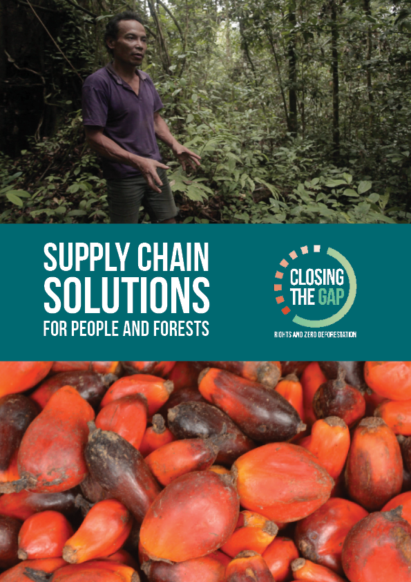 Supply Chain Solutions for People and Forests